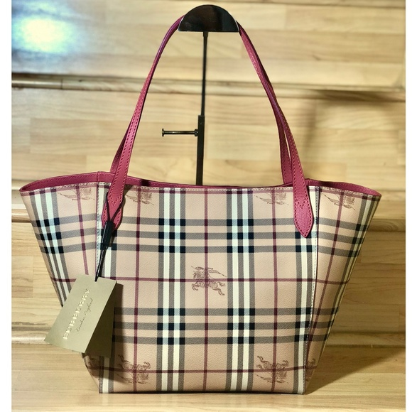 ed73c58faa6f Burberry Haymarket Check Colours Canterbury Tote